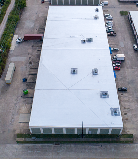 Harwin Retail Re-roof